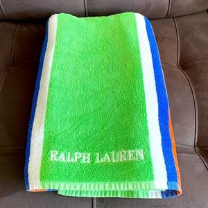 Ralph Lauren Beach Towel EUC